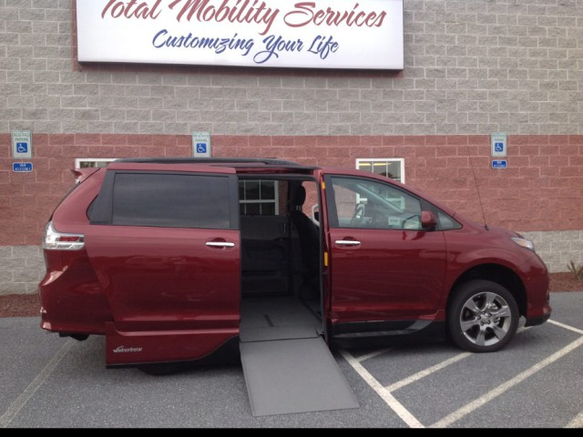 2015 Toyota Sienna VMI NorthstarAccess360 Wheelchair Van For Sale