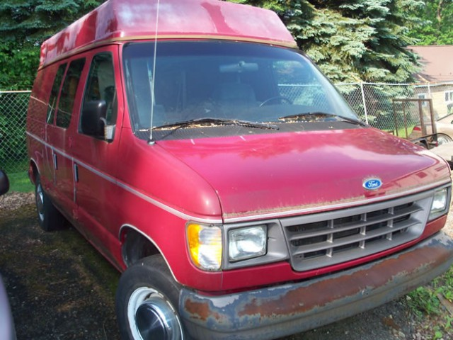 1994 Ford E-250  Wheelchair Van For Sale
