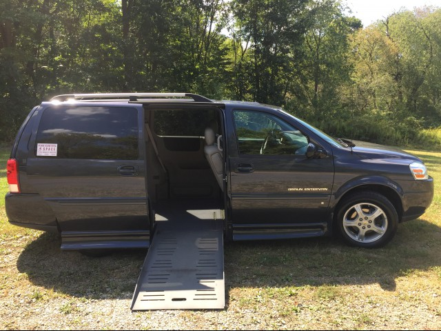 2008 CHEVROLET UPLANDER SE BraunAbility Chevrolet Entervan Wheelchair Van For Sale