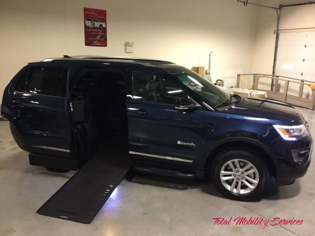 2017 Ford Explorer  Wheelchair Van For Sale