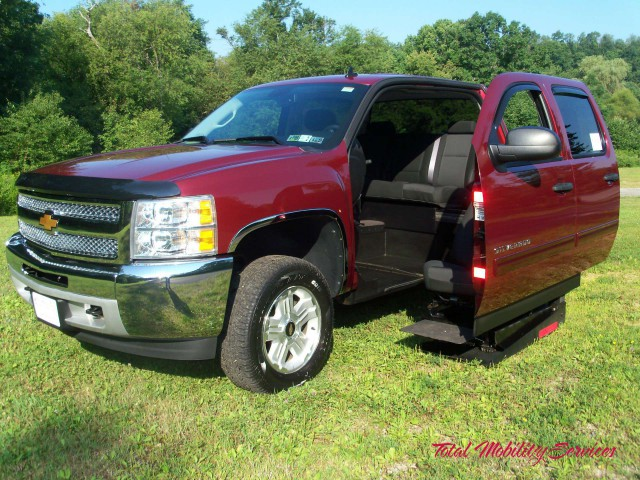 2013 Chevrolet Silverado 1500  Wheelchair Van For Sale
