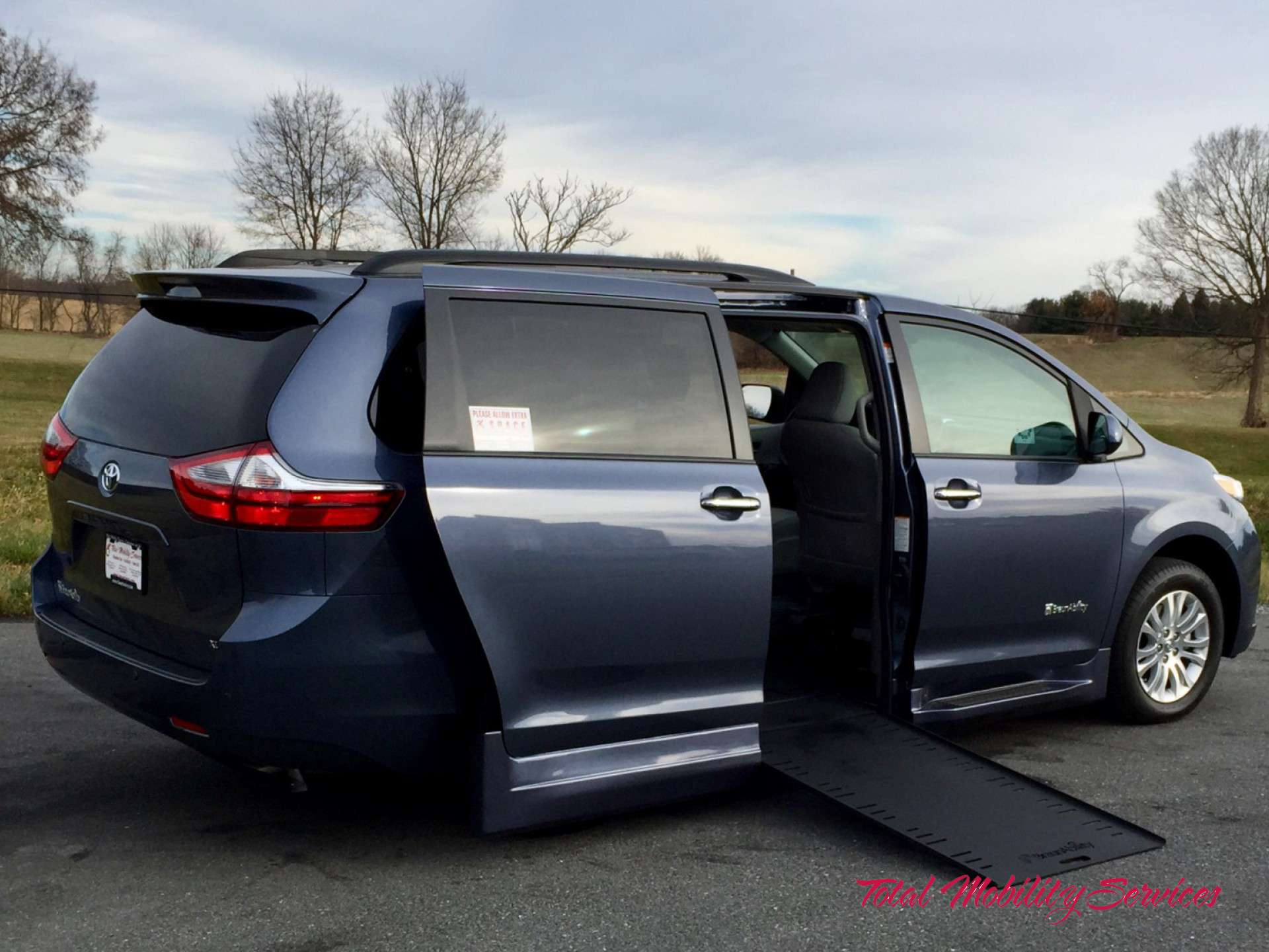 Wheelchair Van For Sale 2017 Toyota Sienna