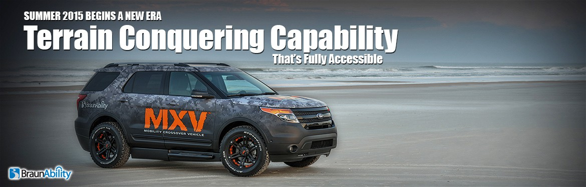 BraunAbility MXV Wheelchair Accessible SUV Ford Explorer