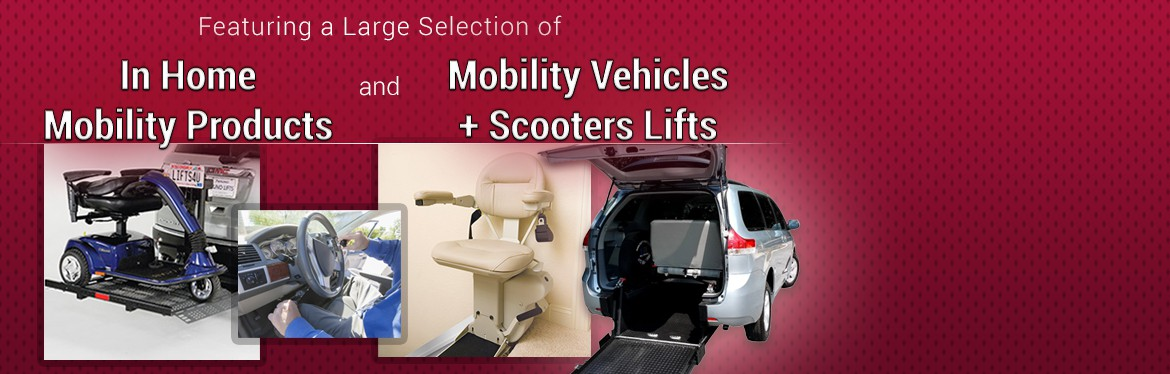 Large Selection of Mobility Products and Vehicles