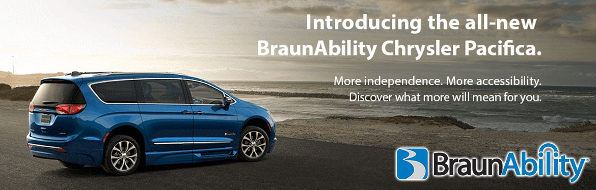 The All NEW 2017 Chrysler Pacifica by BraunAbility