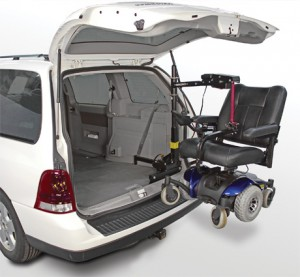 Bruno Space-Saver Scooter Lift