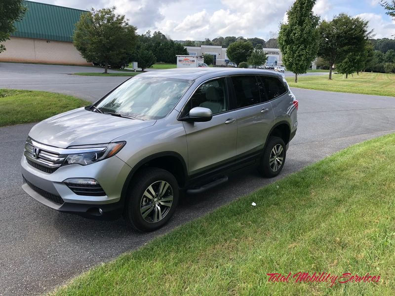 New 2018 Honda Pilot.  ConversionVMI Dodge Northstar E