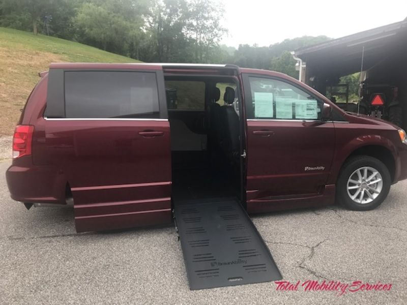 New 2019 Dodge Grand Caravan.  ConversionBraunAbility Dodge Entervan XT