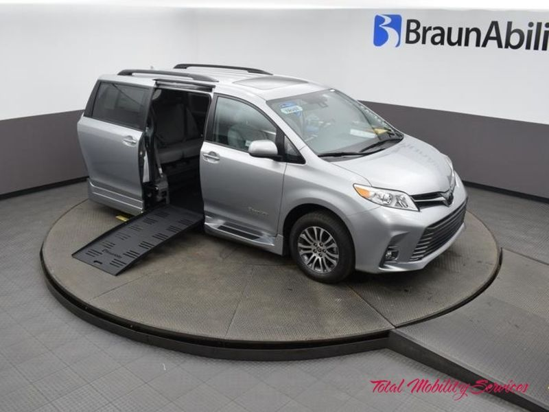 New 2020 Toyota Sienna.  Conversion