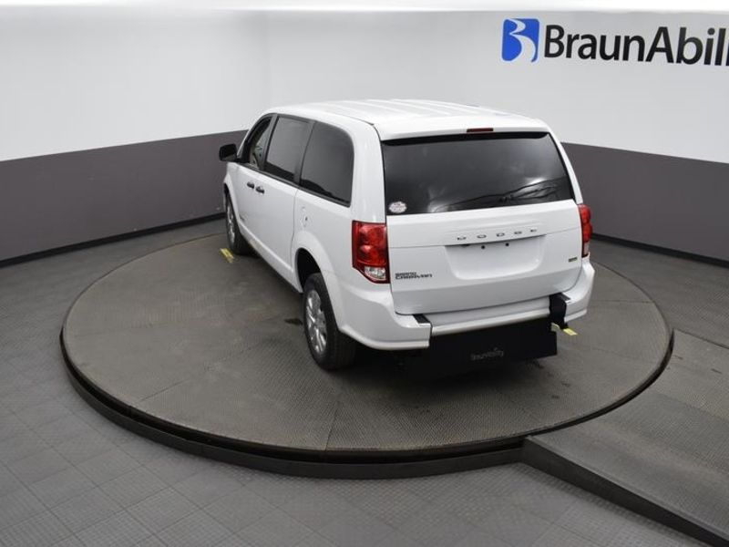 New 2019 Dodge Grand Caravan.  ConversionBraunAbility Dodge Manual Rear Entry