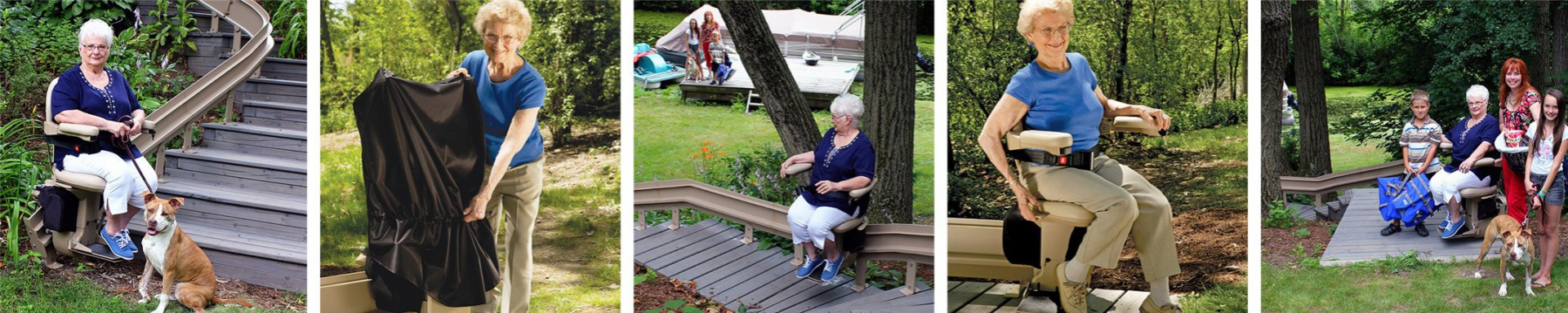 Bruno Outdoor Elite Curve Stairlift (1 of 1)